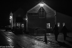 The Lakehouse (Lea and Luna) Tags: street ireland blackandwhite bw building architecture bar night pub nikon nighttime dancehall nikkor countykerry ire bearapeninsula 35mmf18 thelakehouse tuosist d5100 scythianirishtour