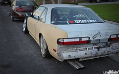 Unaffiliated S13 (Unaffiliated Fam) Tags: white animal lights bucket nissan body seat tail pipes wide style led taylor swift custom rims ghetto blast coupe maxima 240sx 240 sx camber ratchet widebody nardi s13 unaffiliated onevia cambered foreverstreet