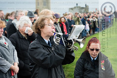 RemembranceSundayAber09112014_km015.jpg (ffoto keith morris) Tags: uk people playing wales town war ceremony aberystwyth service welsh warmemorial remembering remembrancesunday bugler lastpost