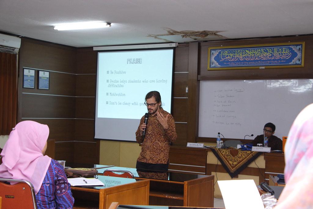 Sean Stellfox - University Islam Indonesia Yogyakarta, Indonesia
