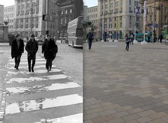Derby Square, 1963 and 2014 3 (Keithjones84) Tags: liverpool beatles mathewstreet thebeatles thenandnow oldliverpool