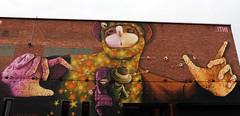 Grafitti by INTI @ PXL-Music / Muziekodrome - Hasselt (B) (Rick & Bart) Tags: streetart art graffiti hasselt inti belgum schipperstraat rickbart inticastro rickvink pxlmusic muziekodrome