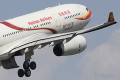 B-6088, Hainan Airlines Airbus A330-200, BRU (Andries Cafmeyer Planespotting) Tags: brusse