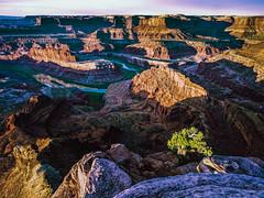 "Dead Horse Point and Colorado River (Keith ""Captain Photo"" Cuddeback) Tags: utah moab captainphoto deadhorsepointsunrise"