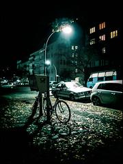 20141101-7 (sulamith.sallmann) Tags: city wedding light urban berlin bike bicycle night germany dark deutschland licht streetlight europa nightshot traffic post time nacht streetlamp rad rder bicycles kommunikation stadt vehicle letterbox mitte velo deu fahrrad dunkel beleuchtung fahrzeug briefkasten nachtaufnahme fahrrder nachts gesundbrunnen fahrzeuge postkasten berlinmitte stdtisch verkehrsmittel zweirad zweirder sulamithsallmann strasenlaterne strasenlampe strasenbeleuchtung bellermannstrase