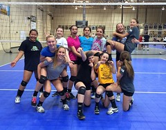 Megan's 14-1 travel volleyball team the day they had try-outs (HIRH_MOM) Tags: girls arizona silly sports team volleyball beautifulgirls 2015 volleyballteam girlssports girlsvolleyball girlsrules arizonavolleyball spiralvolleyball spiralproud volleyballtryouts2015