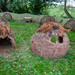 Notez la ressemblance avec la forme d'un four à pain traditionnel... Steiner Academy, Hereford, Royaume-Uni