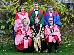 EU Ambassador O'Sullivan was awarded an Honorary Degree from Trinity College, Dublin in December, 2014