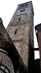 Old bricks (GuidoCostantini) Tags: life light sky art church beauty skyline architecture walking alone loneliness soul oldbuilding absence