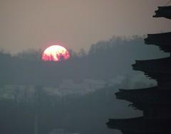 SEOUL GYEONBOKGUNG PALACE SUNSET (patrick555666751) Tags: gyeonbokgung palace seoul south korea coree du sud asie asia sunset coucher de soleil east corea del coreia do sul zuid sur