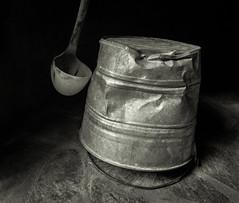 Ladle & Bucket (Maria Sciandra) Tags: texture mexico urbanexploration sanmigueldeallende weathered minimalism mtsciandra sonyrx100 mariasciandraphotography