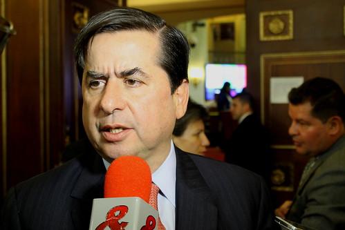 Juan Fernando Cristo (Vagamundos) Tags: cristo ministrodelinterior ministro ministeriodelinterior declaraciones juanfernandocristo