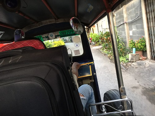 Yeah, I was that guy. Taking pictures on a tuk-tuk after making fun of foreigners and their rickshaw pictures.