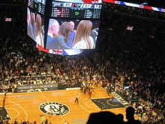 IMG_5920 (Mud Boy) Tags: nyc newyork game basketball brooklyn downtown kate william nba jayz fortgreene princewilliam downtownbrooklyn queenbee beyoncé katemiddleton barclayscenter thedukeandduchessofcambridge 620atlanticavenuebrooklynny11217 barclayscenterisamultipurposeindoorarenainbrooklynnewyorkcityitsitspartiallyonaplatformoverthemetropolitantransportationauthorityownedvanderbiltyardsrailyardatatlanticavenueforthelongislandrailroad arenainnewyorkcitynewyork brooklynnetsvsclevelandcavaliers princewilliamandduchesskatewatchednetscavaliersinbrooklyn bringbuzztobrooklynnets seekateandwilliammeetbeyoncéandjayz willandkatemeetjayzandbeyonceatnbagame