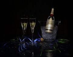 Shoot Miami 52 Week Challenge - Week 49 - New Years Eve (tleemiami) Tags: longexposure canon champagne newyearseve imperial moetchandon brut markiii eos5d ef24105mm f4lisusm editionlimitee