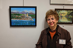 DSCF6461_au (thebiblioholic) Tags: portrait art exhibition reception 365 raa willlibrary