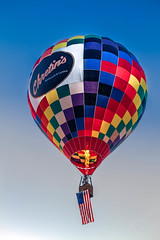 Chretin's Balloon (http://fineartamerica.com/profiles/robert-bales.ht) Tags: blue red arizona orange southwest sport yellow clouds wow balloons spectacular restaurant photo colorful basket superb aircraft awesome events scenic peaceful flame transportation airship gondola sensational recreation hotairballoons ballooning magnificent striped propane yuma inflate haybales stupendous iphone airships balloonflight balloonaircraft thermalairships chretins hotairballoonphotography robertbales westwetlandpark coloradorivercrossing coloradofest2014