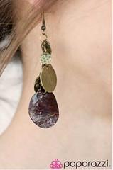 5th Avenue Brass Earrings K2 P5031-1