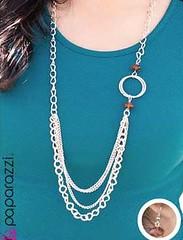 5th Avenue Brown Necklace K2 P2320-1