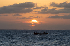 Pôr do sol em Jericoacoara - CE (felipe sahd) Tags: sunset praia beach brasil jericoacoara pôrdosol ceará