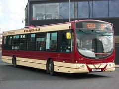 342 YX54FWP on 66 (1) (dearingbuspix) Tags: 342 eastyorkshire eyms yx54fwp