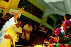 BLESSING OF TABLEAU (phimphim09171) Tags: wood sanjuan generator bicol semanasanta evangelista goldleaf apostol holyweek carroza 2014 karosa disipulo