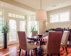 Fine Dining (seikoesquepayne) Tags: light film home real design haze estate natural interior room olympus faux dining 12mm em1 f20