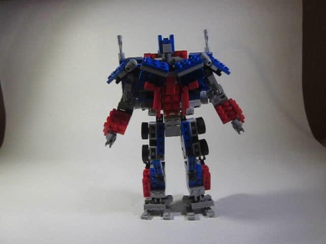 Tutorial- Transformation part 1- Movie Optimus Prime