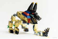 LEGO Anubis (Pharaoh's Quest) (Adam Purves (S3ISOR)) Tags: brick history scale sphinx soldier temple model ancient lego pyramid egypt nile egyptian pharaoh warrior mummy quest diorama cleopatra pharaohs minifigures