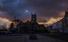 Bedford Square (trevorhicks) Tags: sunset church st canon square bedford evening devon tamron tavistock 6d eustachius