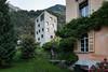 """Premio Wakker 2015 al Comune di Bregaglia (GR)<br /><span style=""""font-size:0.8em;"""">Wakker Preis 2015.<br /><br />Castasegna, Villa Garbald (alte Villa + Neubau Turm).</span>"""