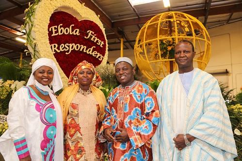 Rose Parade 2015: Ebola First Responders
