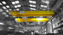 Pair of Double Girder Cranes