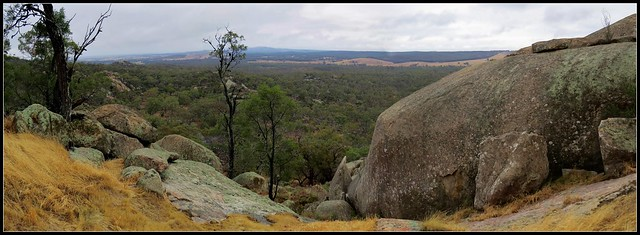 View south from Melville Caves