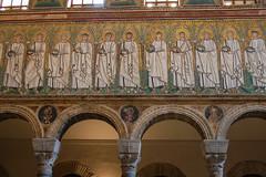 Mosaics (Laura Sanderman) Tags: world italy art heritage architecture italia mosaic basilica unesco ravenna sites emiliaromagna nuovo unescoworldheritagesites santapollinare basilicaofsantapollinarenuovo