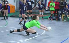 IMG_0666 (SJH Foto) Tags: school girls club high team dive teenagers teens impact volleyball contact burst mode libero tweens