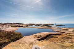 Bohus Coast (johanbe) Tags: ocean sea water sailboat landscape nikon sweden bluesky tokina hav segelbt landskap kust vstkusten grebbestad klippor tjurpannan d7200 bohuscoast bohuskusten