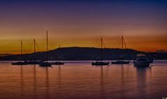 Daybreak at Tascott (Merrillie) Tags: longexposure pink sea sky water sunrise reflections boats dawn bay nikon marine scenery waterfront australia views nsw daybreak tascott brisbanewater seaviews d5500 nswcentralcoast centralcoastnsw