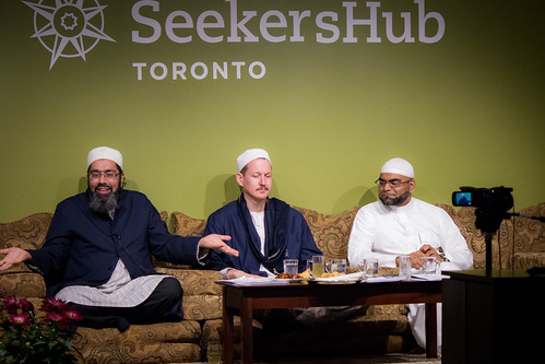 "Shaykh Yahya Rhodus at SeekersHub, Toronto and Seminar Series: Worship, Coffee and The Meaning of Life • <a style=""font-size:0.8em;"" href=""http://www.flickr.com/photos/88425658@N03/26566910660/"" target=""_blank"">View on Flickr</a>"
