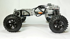 Lego Technic Self-supporting Chassis (MOC) (hajdekr) Tags: auto car wheel automobile lego wheels platform creation technic vehicle chassis base solution moc selfsupporting carchassis myowncreation selfsupportingchassis
