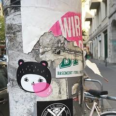 Bubble gum (Andrea Kang) Tags: bear berlin gum sticker candy bubblegum andreakang instagram ifttt
