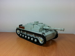 StuG III ausf. G (italianww2builder) Tags: war tank lego iii destroyer german ww2 custom panzer stug