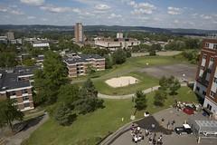 Aerial Photos (BinghamtonUniversity) Tags: usa ny vestal aerials 2013 buildingsandfacilties