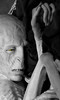 Voldemort (ShelleyCorinne) Tags: green lumix character harrypotter olympus greeneye rebirth olympuspen animatronic warnerbros darklord voldemort darkarts micro43 45200mm olympusepl1 harrypotterstudiotour