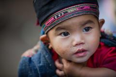 Vietnam: jeune enfant; ethnie des Lolo noir. (claude gourlay) Tags: portrait people face asia retrato vietnam asie ethnic minority enfant ritratti ritratto indochine caobang tonkin baolac ethnie minorit claudegourlay lolonoir