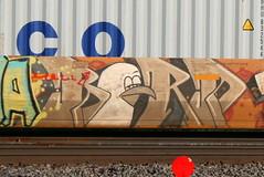 BIRD, Byrd, Neenah, 11 Jun 16 (kkaf) Tags: bird graffiti byrd neenah
