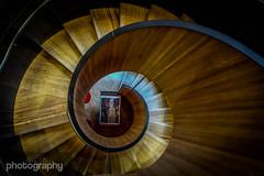 Downward Spiral (Alex Chilli) Tags: london londonbridge spiral hotel stair steps down staircase swirl southwark bankside citizenm