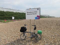 Stop for a swim at Brighton Naturist Beach (WildSwimmingCyclist) Tags: beach naturist