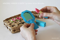 Origami Lady's Purse (Oriland) Tags: toronto ontario canada canon paper paperart eos design origami colours   canonphotography paperdesign oriland noglue orilandcom katrinray yuriandkatrinshumakov origamibyyuriandkatrinshumakov origamibijou origamicutehandmirrors origamifashioncollection cutehandmirrorsbykatrinshumakov handbagbykatrinshumakov origamiladyspurse lipstickbykatrinshumakov