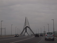 De Oversteek (The Crossing) (:-) LR) Tags: bridge nijmegen thenetherlands gelderland archbridge